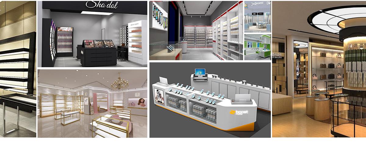 Beauty Kiosk Hot Sale Fashionable Shopping Mall Nail Kiosk Sale