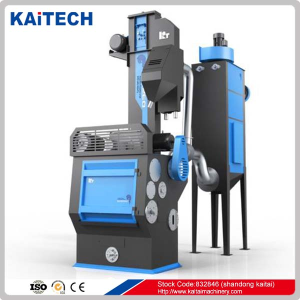 Q326 rubber belt/ tumble belt shot blasting machine
