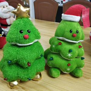 Singing Christmas Tree.Electronic High Quality 30cm Singing And Dancing Stuffed Plush Christmas Tree
