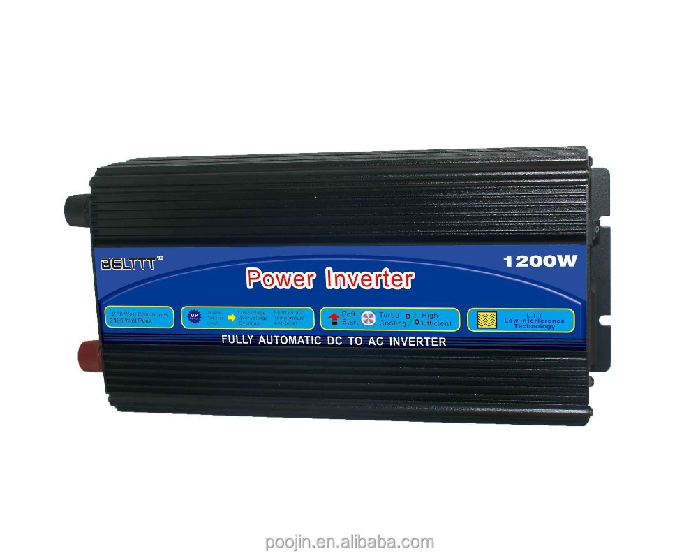 1200W Large Power Supply Modified Sine Wave Solar Power Supply