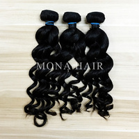 Hair express factory shipping non-chemical human hair weave