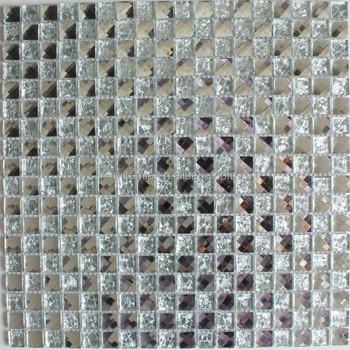 Miroir Mosaique Craquement De La Glace Transparente Salle De Bains