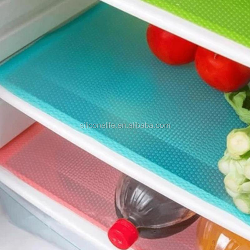 High quality Multifunction Silicone Refrigerator Pad Mat Fridge Anti-fouling Anti Frost Waterproof Pad Kitchen Table Eat Mats