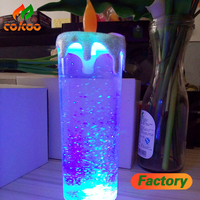 Colorful electronic candle Romantic light LED electronic candles colorful smoke - free candle lights