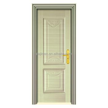 Wood Grain Steel Security Door Metal Door Buy Flat Metal Door