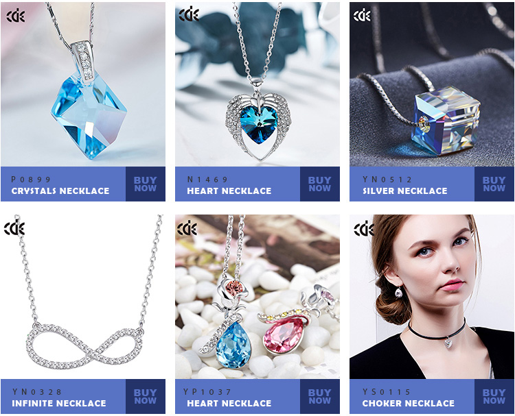 2018 CDE Manufacturers Crystals from Swarovski Custom Fashion Crystal Jewelry