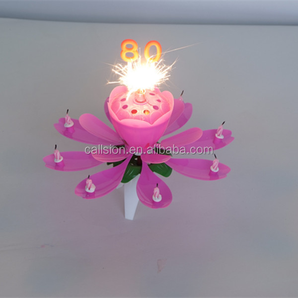 paraffin number birthday candle