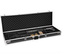 protection level hard shell gun case aluminum with egg foam inside