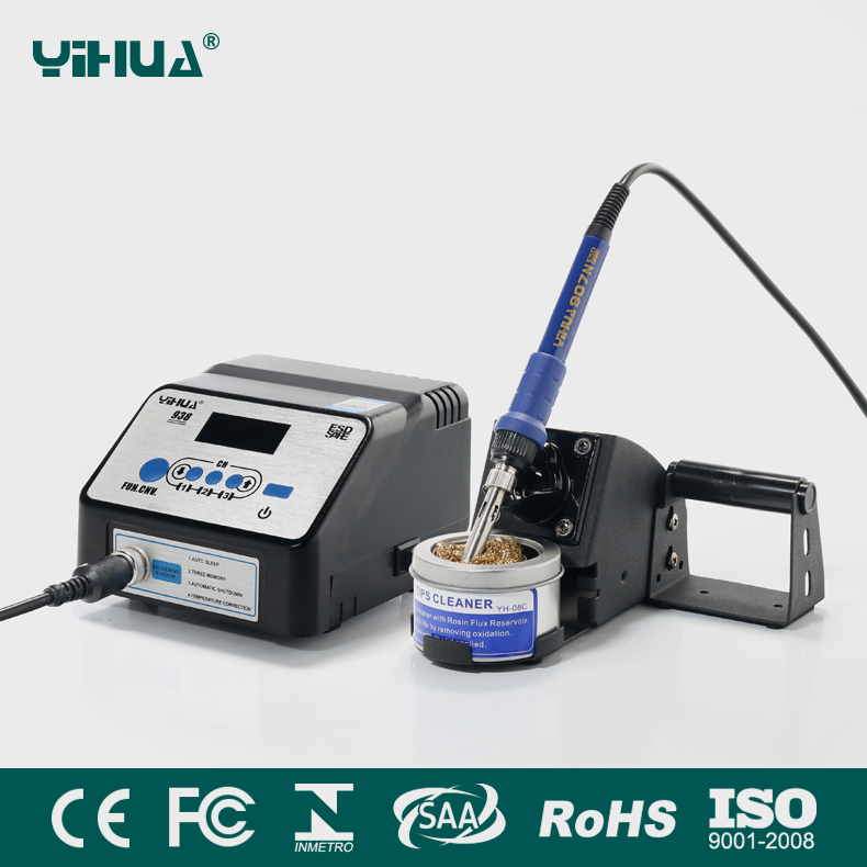 YIHUA 938 Anti-static LCD display Soldering iron station