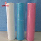 Bed Sheet For Disposable Bed Sheets For Hospital Hot Sell Multicolored PP Non-woven Disposable Bed Sheet Rolls For Hotel/home/hospital Use