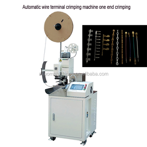 brass electrical terminals crimping machine