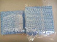 China Wavy Spunlace Non woven Fabric, mesh spunlace