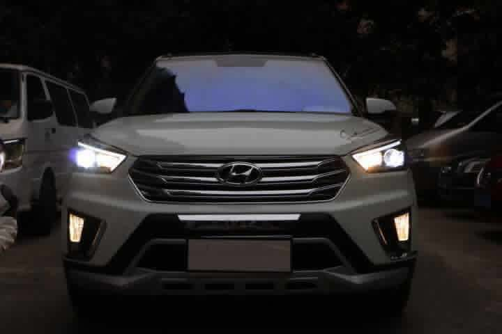 Akd Car Styling For Hyundai Ix25 Led Headlights A Type