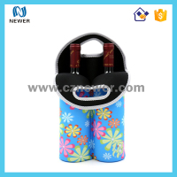 Durable custom nice looking pretty oem neoprene wine blank beer coolers