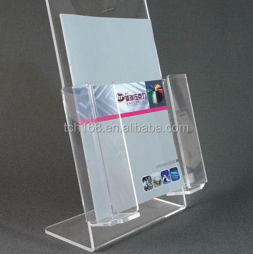 3 Tier Acrylic Paper Cup Display Stand Plastic Straw
