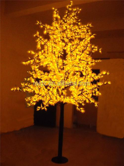 Christmas Light Led Tree Maple Tree Shape Christmas Decoration ...