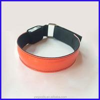 LED luminous safety reflective arm band sports wrist band