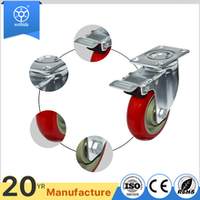 European style go-cart PVC PU caster wheel manufacturer
