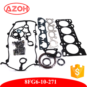 High Quality Mazda Overhaul Head Cylinder Gasket Full set OEM 8FG6-10-271 FOR mazda 323 BJ 1800CC CP