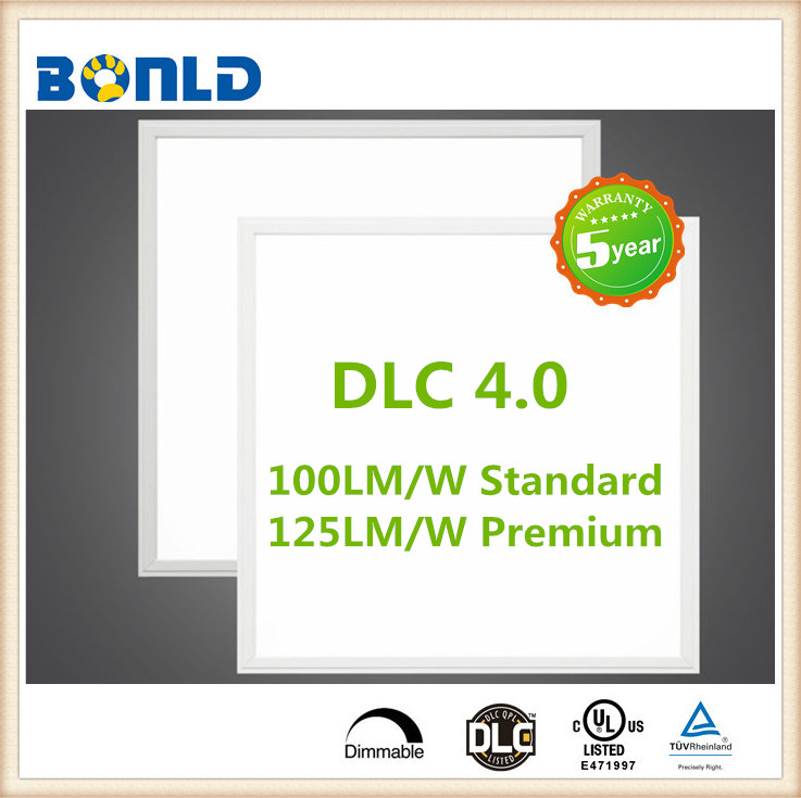 Good quality DLC UL Acrylic 3T light guide plate high power ceiling LED panel lights / China manufacturer