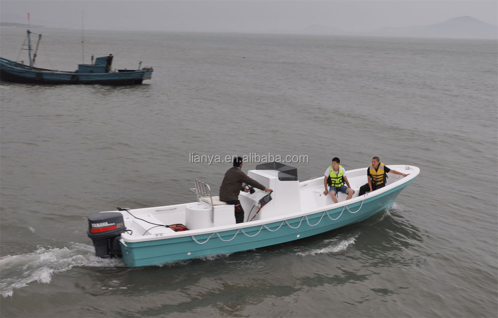 Liya 26feet 7.6meter Fiberglass Fishing Boats For Sale