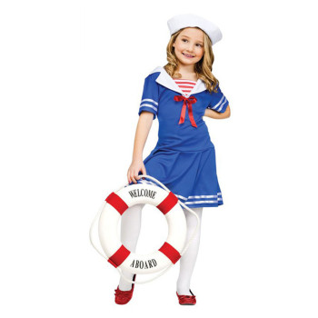 Directly Factory Sell Halloween Costumes Child Sailor Girl Cosplay Costumes  For Sale