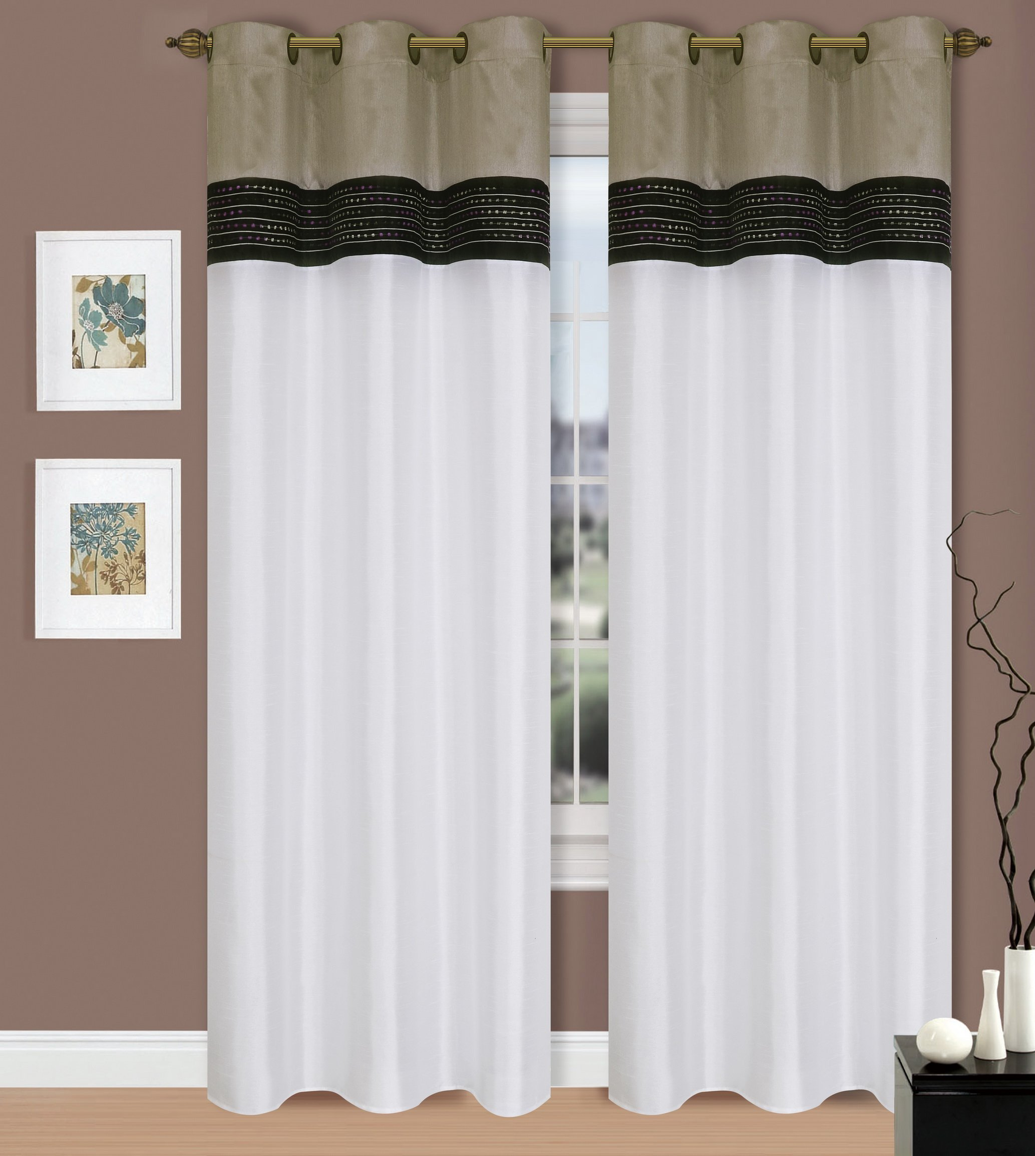home at by chairs w stripe il vertical member highland park tone connection drapery curtains custom in installed upholstered