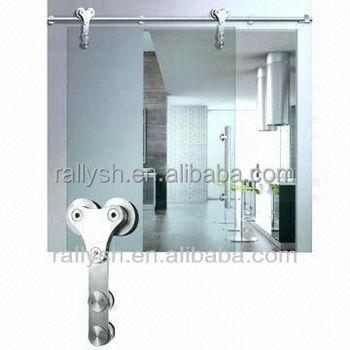 Frameless Glass Sliding Door Hardware Heavy Duty System Ym 05