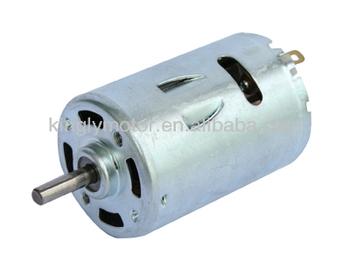 Dc motor rs 385 6v 12v 24v 12v hair dryer micro dc motor for Dc motor hair dryer