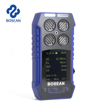 Portable multi Gas Detector for CO, O2, H2S, LEL Methane, Carbon Monoxide, Oxygen, H2S gas