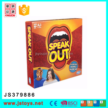 2017 watch your mouth board game pieces speak out family game