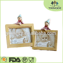 "5 ""6 inch han edition multicolor creative personality and pure and fresh and contracted Somehow the dual phase Resin table frame"