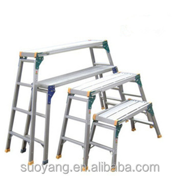 Color : BLACK, Size : 3 step Small Step Ladder White 2 Step