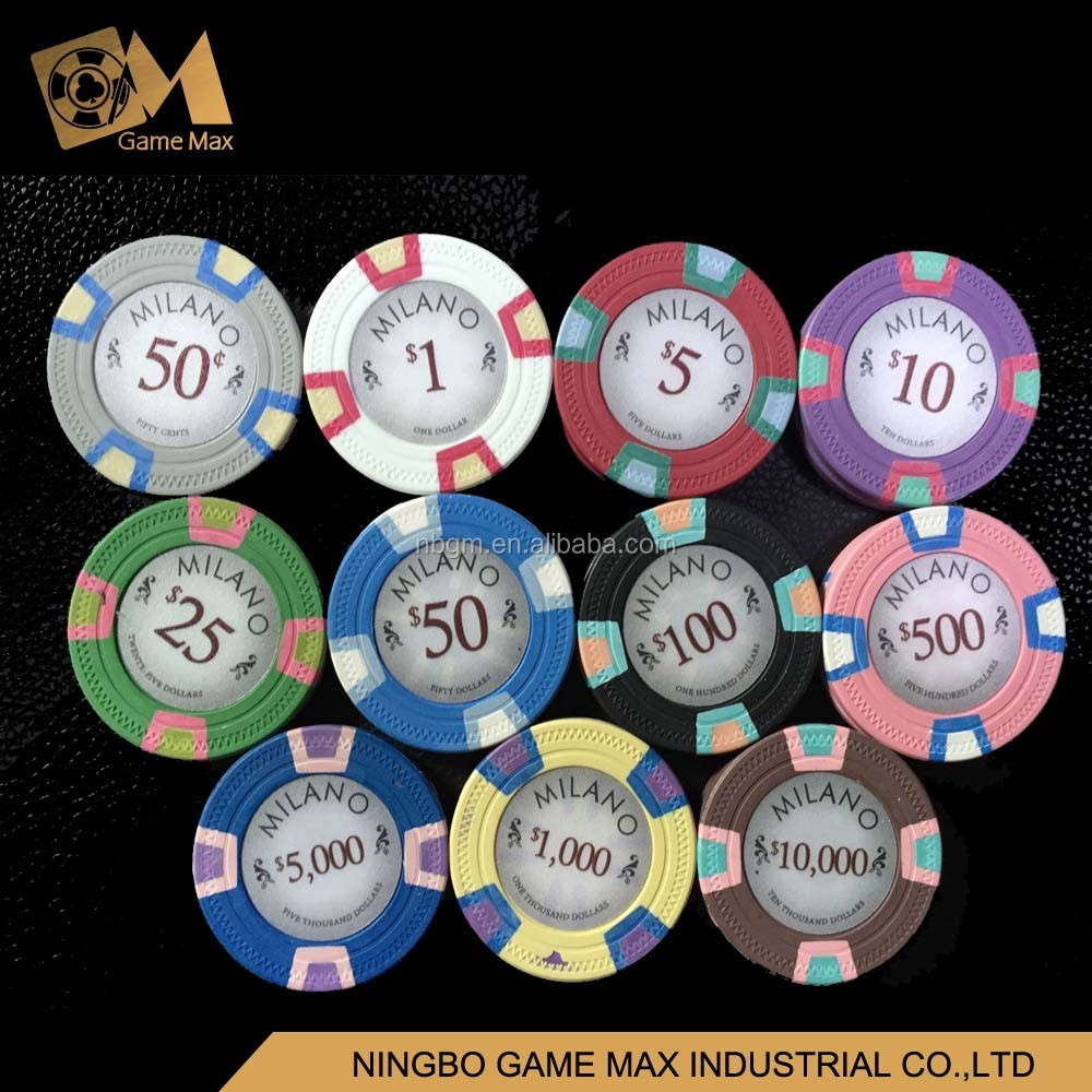 10g realy 3 colors argilla poker chip senza la moneta in metallo/milano chip