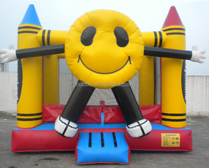 Strong inflatable bouncy, good quality jumping castle PVC material made in China