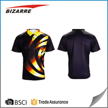 Top quality sublimation print polo t shirt for men