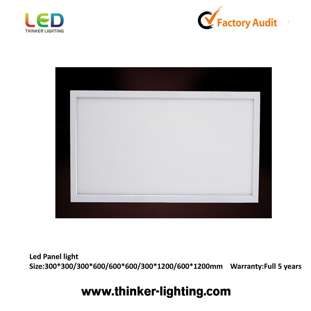 Ultra slim high lux 40W super bright edge-lit led panel lights 300x300