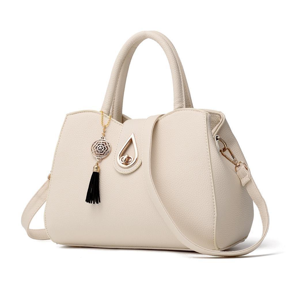 Lywey Fashion Women Lichee Pattern PU Leather Purses Crossbody Bag Shoulder Bag Messenger Tote Bag