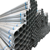 di pipe standard length 1/2 inch gi pipe round pre-galvanized round steel pipe/tube
