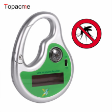 Outdoor Hook Type Pest Repeller Solar Ultrasonic Mosquito Insect Killer with Compass