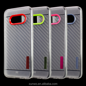 New fashion transparent carbon fiber case for ZTE A610, For ZTE V6 MAX New  cell phone case