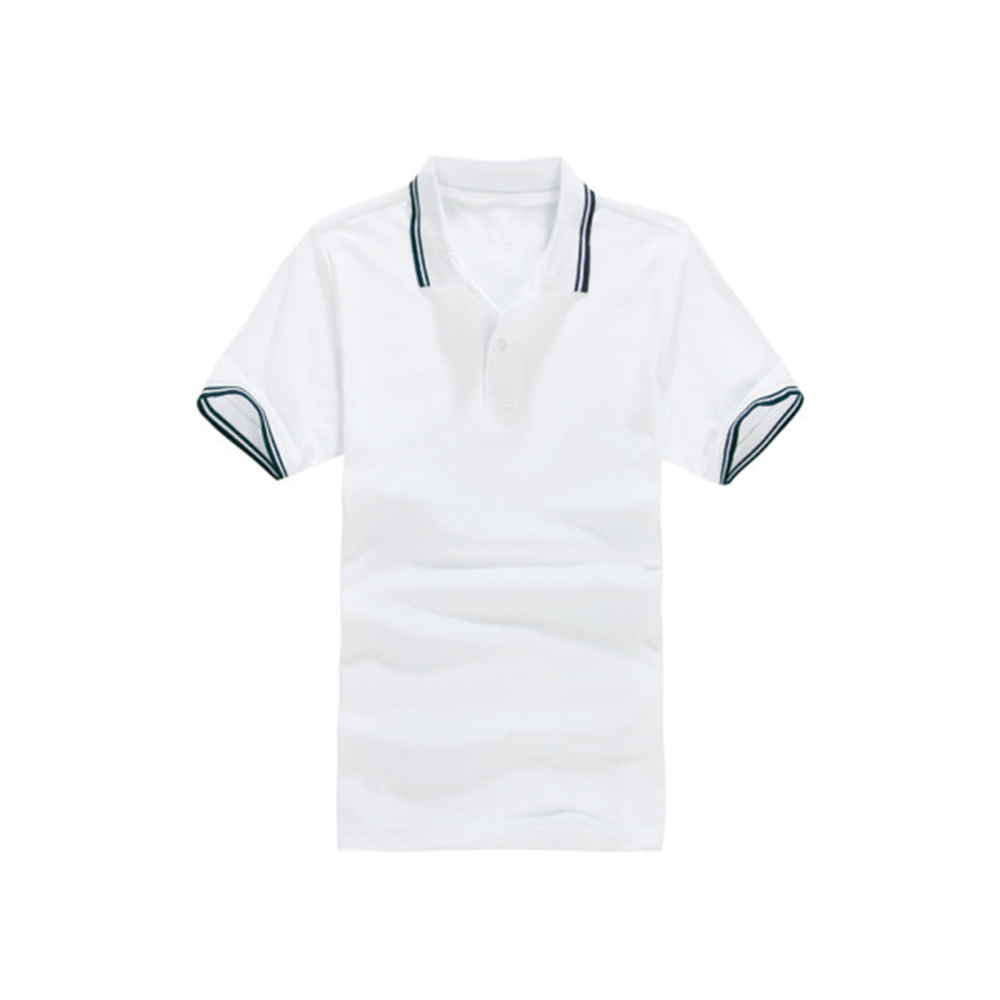 Cheap soft polyester blank polo t-shirt