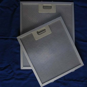kitchen cooker exhaust range hood Aluminum mesh grease filter