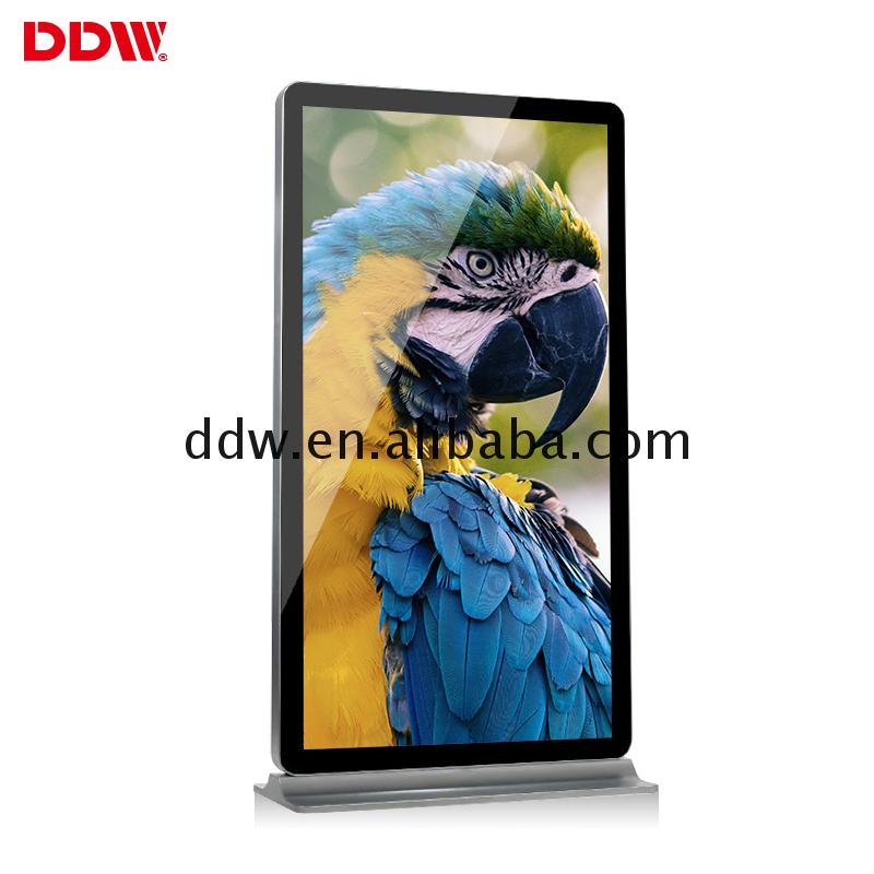 98 inch Quality floor standing wifi 3g tv touch computer DDW-AD9801SN