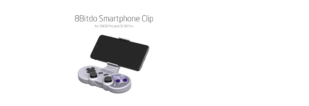 8Bitdo Smartphone Clip for SN30 Pro SF30 Pro Gamepad 15