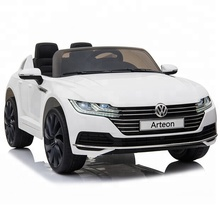 2018 New Volkswagen Arteon 라이센스 Ride on 차 Baby <span class=keywords><strong>전자</strong></span> Cars 대 한 Kids Ride On 장난감