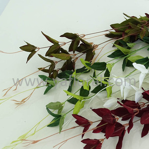Yafloral Brand Wholesale Green Artificial Olive Leaf for Wedding Arch Decor