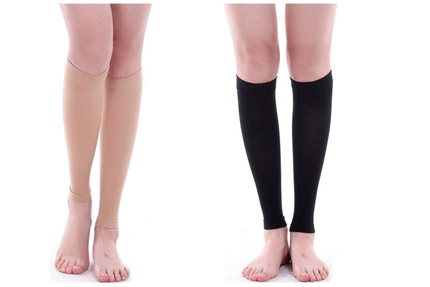 ZEALWOOD Merino Wool Calf Compression Sleeve Leg Performance Support Shin Splint /& Calf Pain Relief Men Women Runners Guards Sleeves Running