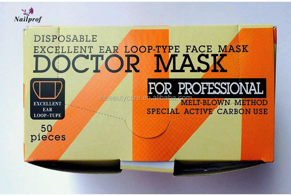 Loop-type Disposable Non-woven Doctor Buy Layers Ear Active Professional 4-ply Carbon Pp - 4 Face Mask