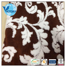 100% Polyester Cationic Sherpa Fleece Jacquard Shu Velveteen Fabric for Garment,Toys,Blanket,Bathrobe,Home Textile